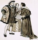 Cardinal Wolsey could not change Henry's mind about marrying Anne Boleyn
