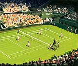 The centre court at Wimbledon