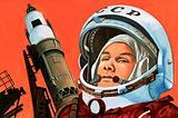 Unidentified Russian cosmonaut