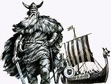 Vikings and their longship