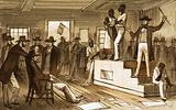 Slave auction in the United States, 19th Century