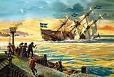 Sinking of the Swedish warship Vasa, 1628