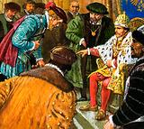 Richard Chancellor is taken to meet Tsar Ivan