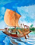 The History of Our Wonderful World: The Boatmen of the Nile