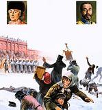 Unidentified scene from Russian Revolution of 1905