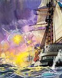 The Ironclads of the Battle of Trafalgar