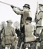 As Prince of Wales, King Edward spent much time hunting and shooting