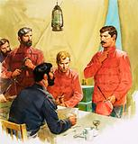Lieutenant Carey reporting the death of Prince Louis Napoleon in the Zulu wars.