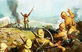 Boer surrendering