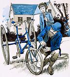 A garden hose provided John Dunlop with a smooth bicycle ride