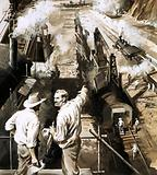 GW Goethals directs the building of the Panama Canal