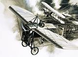 The first reconnaissance flight by the RFC