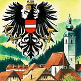 The Austrian Eagle, emblem of Austria