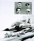 The Six Days' War fought between Israel and the Arab states