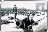 Charles de Gaulle takes his Victory Walk down the Champs Elysses during the liberation of Paris