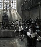 "In Parliament, Oliver Cromwell spoke for the ""poor commoners"" with blunt, forthright speeches"
