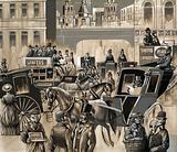 Victorian street scene
