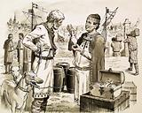 Phoenecian (?) traders