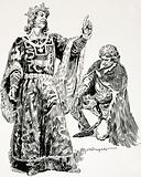 Edward the Third seized Roger Mortimer and brought him to London in chains