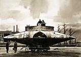 "The ""Resurgam"" submarine created by the Rev. George Garrett in 1879"