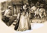 Mary Queen of Scots came to visit the smallpox-stricken husband Lord Darnley