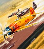 Three 'hot rod' racers from Aerobatic competitions