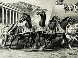 Chariot racing in ancient Rome