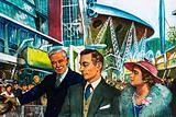 George VI opens the Festival of Britain