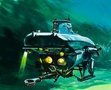 The Vickers mini-sub