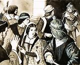 At one time, guards were chosen by the bridegroom to protect the bride from possible kidnapping