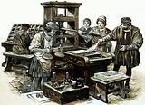 The third printing press in England was set up in St Albans in 1480