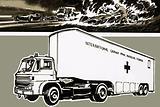 Grand Prix Medical Service truck