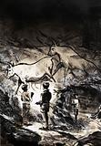 The cave paintings of Lascaux near Montignac in France