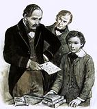 Prince Albert was determined that Edward should have a sound education