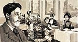 Arnold Bennett was inspired to write The Old Wives' Tale when he observed a large lady in a restaurant