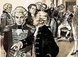 After losing the American War of Independence, the King refused to see General Burgoyne