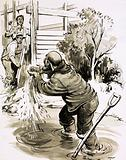 James Marshall becomes the first man to find gold in California in 1848