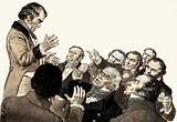 William Wilberforce was faced with many obstinate Parliamentarians