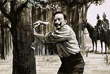 Kaiser Wilhelm II chopping down trees