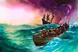 Ship-wrecked sailors
