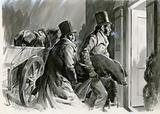 Burke and Hare, notorious Edinburgh serial killers, 1828