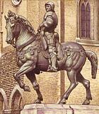 Statue of Bartolommeo Colleoni by Andrea Verrocchio