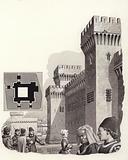 The Castello d'Este in Ferarra, Italy