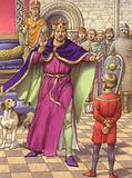 A young boy was employed to tell King Henry that his son was dead
