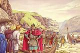 Ragnar Lodbrok, one of the first Vikings to raid Britain