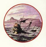 1647, the wreck of the Dutch East Indiaman, Harlem, in Table Bay