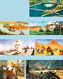 Scenes from the history of the River Nile