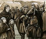 Children of poor Anglo-Saxon families sold into slavery