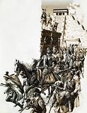 Francisco de Coronado's expedition to find Cibola