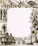 Montage of images relating to the town of Colchester